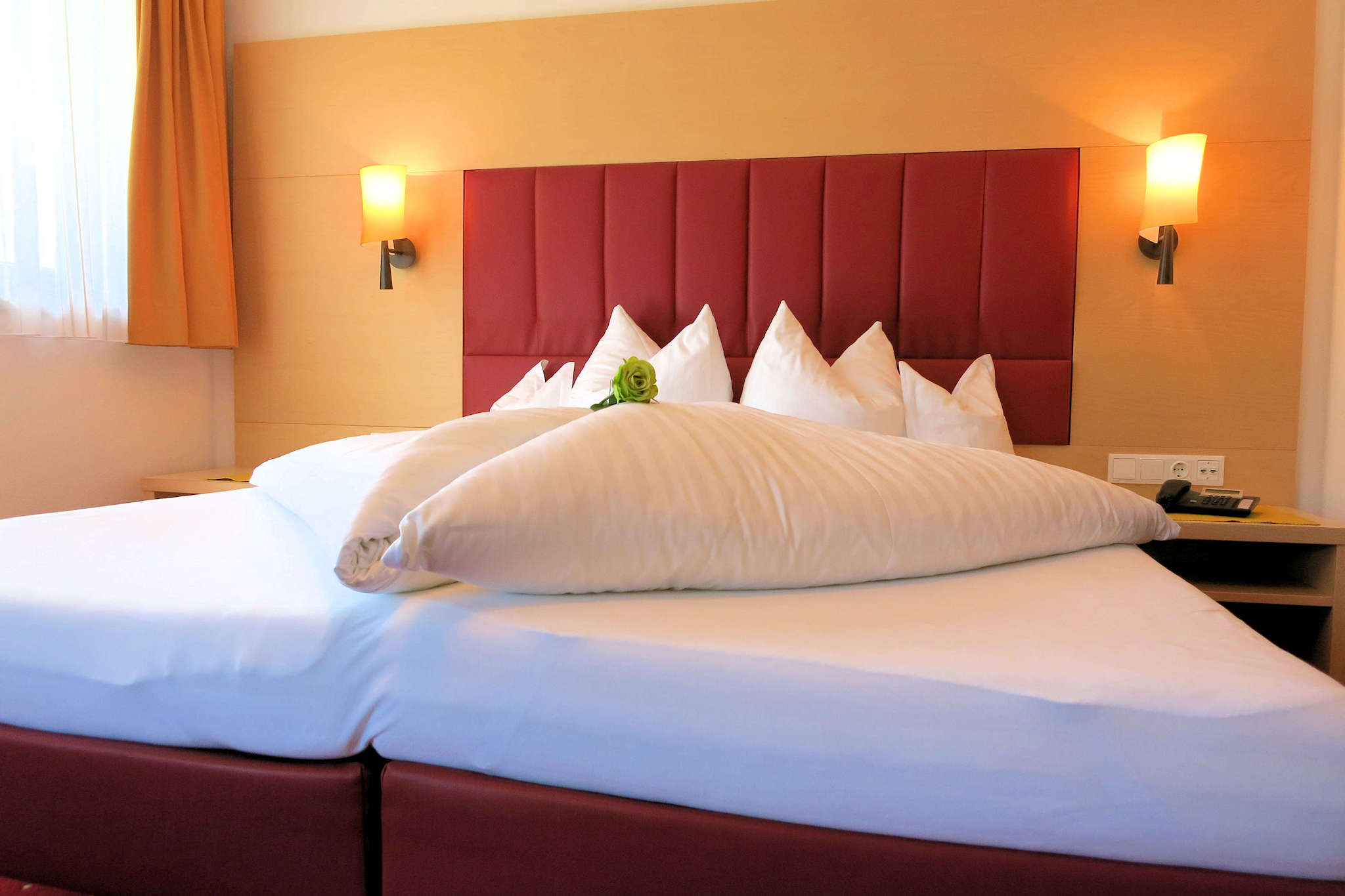 3 bettzimmer wildbach hotel gasthof j ger for Schlafcouch 2m